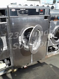 Unimac Front Load Washer 50LB 3PH UC50PC2 Stainless Steel AS-IS La Habra