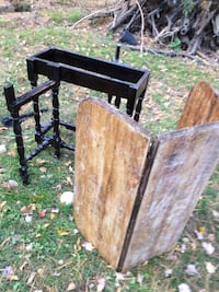 brown and black wooden folding table set 38 km