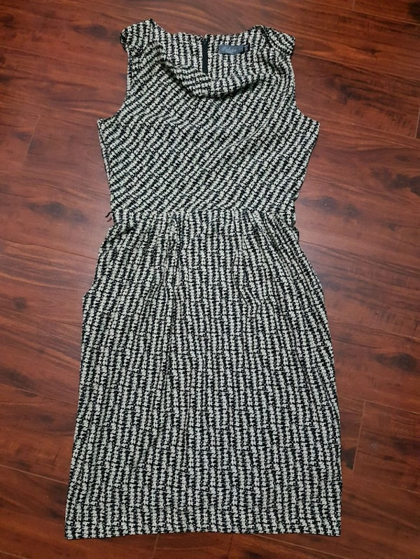 Costa Blanca Pattern Dress with Pockets