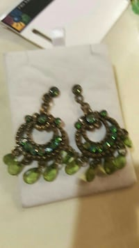 green and black beaded necklace Saddle Brook