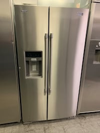 MAYTAG STAINLESS SIDE BY SIDE FRIDGE  Whittier, 90605