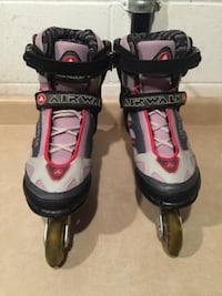 Men's Size 9 / Women's Size 10 AirWalk ABEC 7 Inline Rollerblades London
