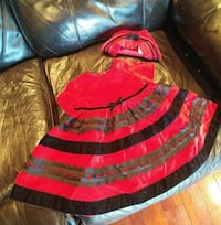 Girls 12 month dress with beret hat Langley Township, V4W