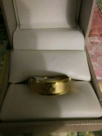 New stainless steel Mason ring Inverness
