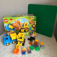 Lego Duplo Large Construction Truck Vehicle Set Lot