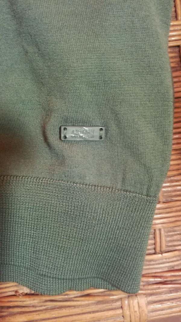 Giorgio Armani Virgin Wool Men's V-neck Sweater In Green ,Gorgeous  ab1940d1-20f0-40cd-92ce-35b1f8a5360a