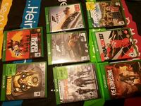 assorted-title Xbox One case lot Guelph, N1K 1Z7