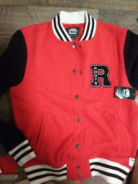 red and black button-up jersey shirt Vancouver, V6A 1G8