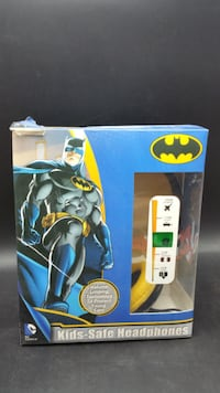 Kids-Safe Headphones, Batman Corona