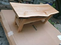 live edge coffee table  Newmarket