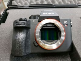 Sony a7R III Full-Frame Mirrorless Camera with Lens