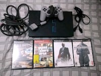 PlayStation 2 - Refurbished, with cords, 4 games and 1 controller. Beaverton, 97008