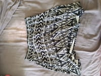 black and white tribal skirt Coquitlam, V3J 6J9