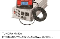 Power inverter 1500 w Youngstown, 44509