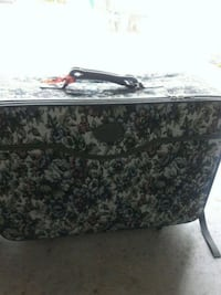 (2) large suitcases