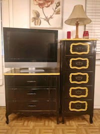Black 2 dressers in good condition, all drawers working well. tall dre Annandale, 22003