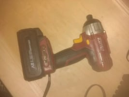 Chicago Cordless Impact Driver, Battery pack, Char