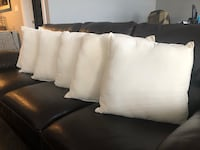 6 Ivory Throw Cushions Spruce Grove, T7X
