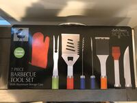 7 Piece BBQ tool set with Case - Brand new Hanover, 21076