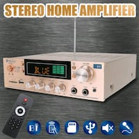 Bluetooth 2.0 Stereo Amplifier FM Karaoke London, N6P 0E2