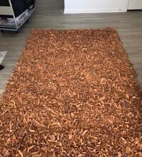 brown and white area rug Charlotte, 28273