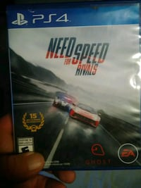 Need for Speed Rivals PS4 game and case Conroe, 77306