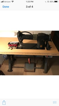 Singer Industrial Sewing Machine and Attachments Toms River, 08753
