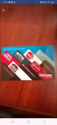 $100 Ultimate dining gift card  Burnaby