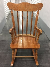 Kid's antique/vintage solid wood rocking chair! Scottsdale, 85255