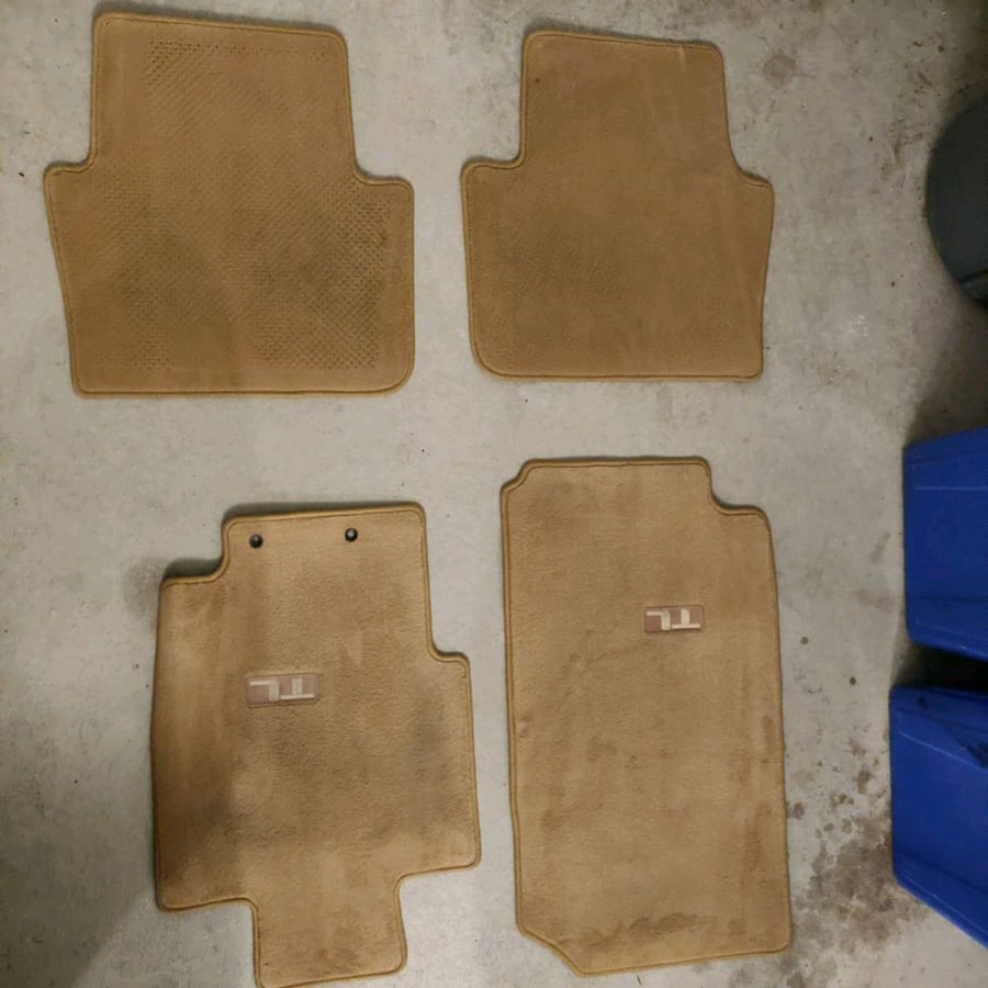 2004 - 2008 Acura TL OEM mats. Whole set. Brand new.