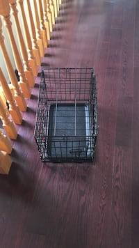 Black steel collapsible pet crate Markham, L6C 3A9