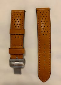Watch Strap with Deployment Clasp