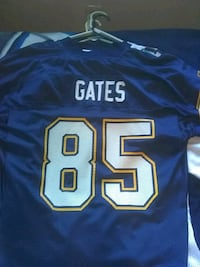 blue and white NFL jersey San Diego, 92114