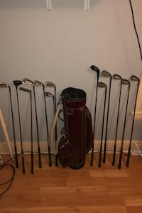 13 Gulf clubs + bag Marlborough, 01752