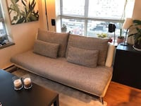 Modern Couch and Chaise Lounge Set Vancouver