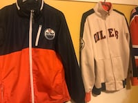 Oilers jackets size small mens Edmonton, T5S 1G4