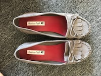 women's pair of brown and red american eagle flats Clearwater, 33760