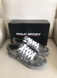 Men's Polo Sport flannel sneakers size 9- New with box Mississauga, L5M 0C5