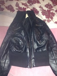 Girl's leather jacket London, N5X
