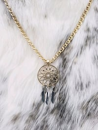 10k Yellow & White Gold Mariner Dream Catcher Necklace Burnaby, V3J 1S3