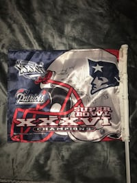 Super bowl flag signed by Tom Brady and others  Winthrop, 02152