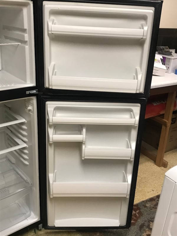 "Fridge 60""h, 27""d, 24""wide 2"