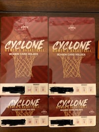 ISU Women's basketball season tickets (2) Des Moines, 50320