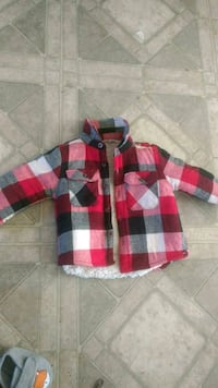 red, black, and white plaid jacket  Duncan, V9L 6V9