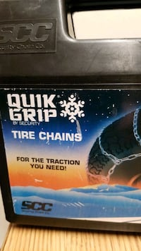 Snow Chains for Tires, QUICK GRIP Tire Chains