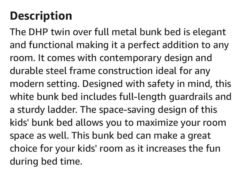 Bunk Bed (Twin over Full) 577ddfbe-00d6-4350-9905-4b4cd472aa1e