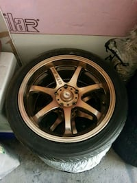 17 inch gtr rims and tires   Toronto, M3C 3A7