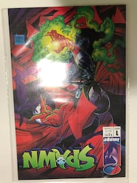 Spawn 1 comic book