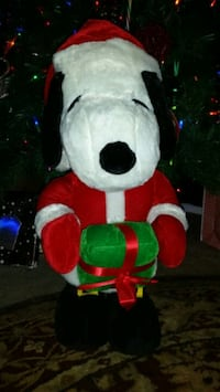 Snoopy Christmas Stuffed Santa Claus San Antonio, 78231