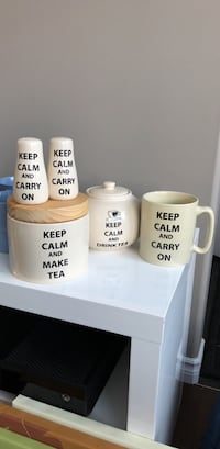 Keep Calm and Drink Tea Set Edmonton, T6X 0X4